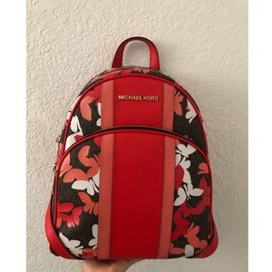 Michael Kors Abbey MD butterfly backpack NWT 🎒